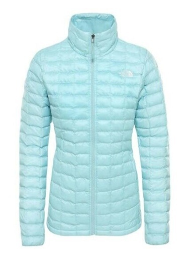 The North Face W Eco Thermoball Kadın Mont Mavi Renkli